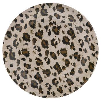 Leopard Print Paper Plates