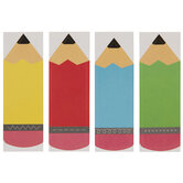 Pencil Name Tag Stickers
