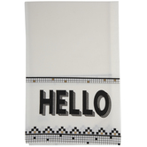 Hello Mosaic Square Kitchen Towel