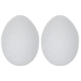 "CraftFoM Foam Eggs - 3 3/16"""