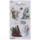 Nativity 3D Stickers