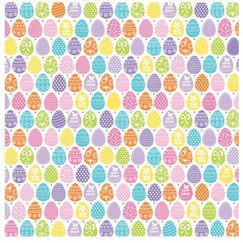 "Easter Eggs Scrapbook Paper - 12"" x 12"""