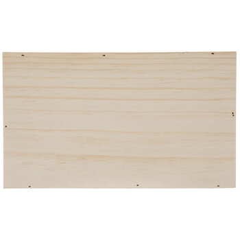 Rectangle Wood Box Sign Wall Decor