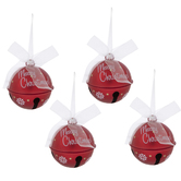 Merry Christmas Bell Ornaments