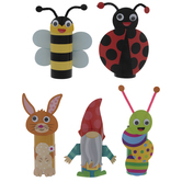Spring Creatures Paper Roll Craft Kit
