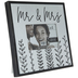 Mr & Mrs Wood Frame - 6