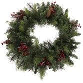 Pine, Berry & Pinecone Wreath