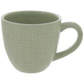 Burlap Textured Mug