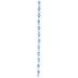 Blue Multi Round Cat's Eye Glass Bead Strand - 8mm
