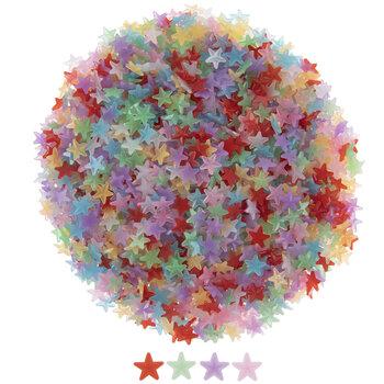 Multi-Color Acrylic Stars