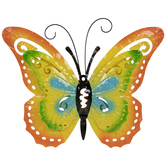 Layered Butterfly Metal Wall Decor