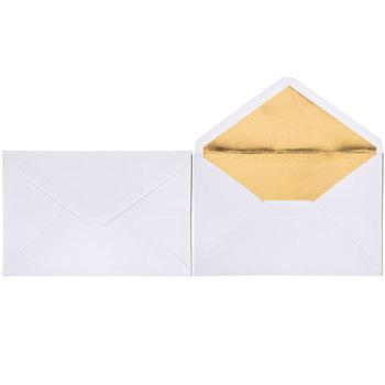 Black & Gold Foil Polka Dot Celebrate Invitations
