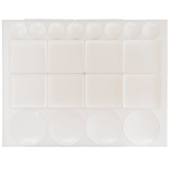 Rectangle Paint Palette Tray