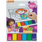 Dora The Explorer Magic Paint Poster Book