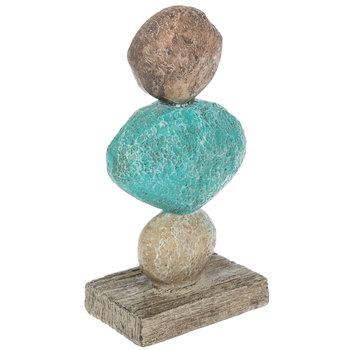 Relax Nautical Stone Stack Decor