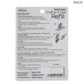 Crafter's Removable Tape Refills