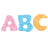 Alphabet Foam Stickers