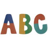 Multi-Color Letter Foam Stickers