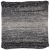 Black Ombre Pillow Cover