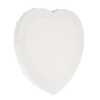 """Heart Blank Canvas - 8"""""""