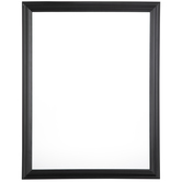 "Matte Black Wood Open Frame - 18"" x 24"""