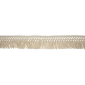 Beige Small Cut Fringe Trim