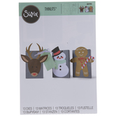 Sizzix Thinlits Christmas Character Box Dies