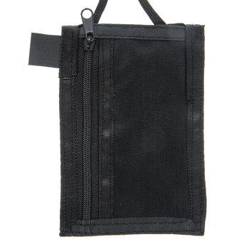 Black Vertical Badge Holder