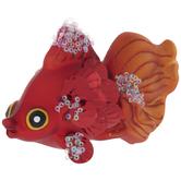 Red Sequin Fish Ornament