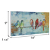 Birds On A Wire Wood Wall Decor