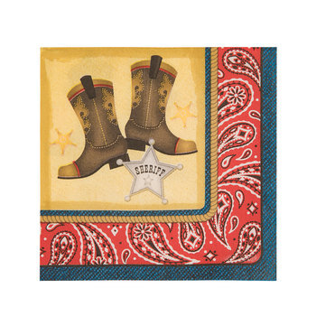 Cowboy Napkins - Small