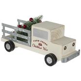 Wood Truck Hauling Christmas Tree