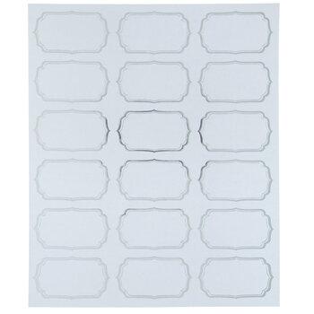 Silver Foil Address Labels