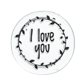 I Love You Laurel Clear Stamp