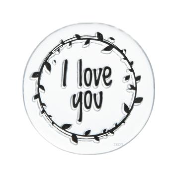 I Love You Laurel Clear Stamp