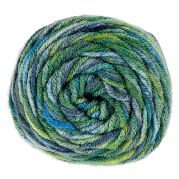 Blue Green Multi Print I Love This Yarn