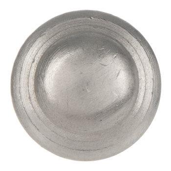Brushed Metal Round Knob