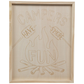 Have S'more Fun Wood Wall Decor