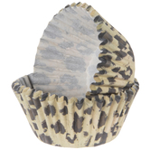 Leopard Print Baking Cups