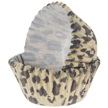 Leopard Print Baking Cups
