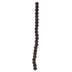 Brown Double Barrel Wood Bead Strand