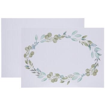 Eucalyptus Wreath Cards - A7