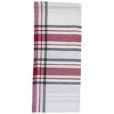 White, Red & Green Plaid Kitchen Towel
