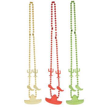 Fiesta Beaded Necklaces