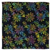 Tie-Dye Floral Bandana
