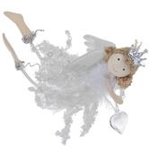 Tinsel Angel Ornament