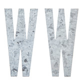 Galvanized Metal Letters - 4""