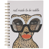 Not Subtle Cheetah Journal