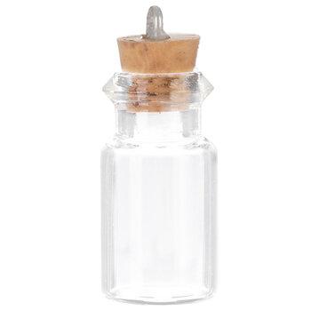 Glass Bottles - 12mm x 24mm