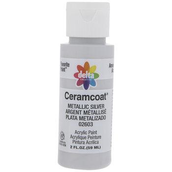 Metallic Silver Ceramcoat Acrylic Paint